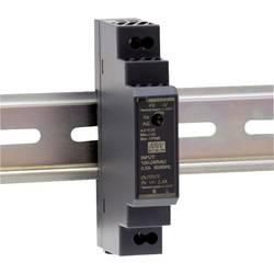 Mean Well HDR-15-5 DIN-napajanje (DIN-letva) 5 V/DC 2.4 A 12 W 1 x