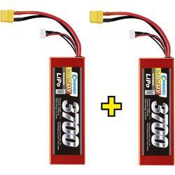 lipo akumulatorski paket za modele 11.1 V 3700 mAh Broj ćelija: 3 40 C Conrad energy tvrdo kućište xt90