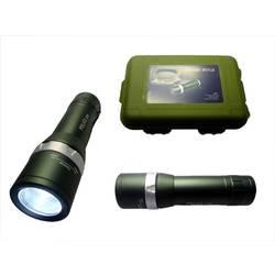 LED Žepna svetilka Berger & Schröter Police Baterijsko 180 lm 129 g Črna/srebrna
