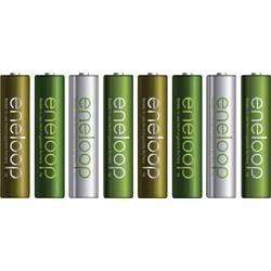 Micro (AAA)-Akumulator NiMH Panasonic eneloop Botanic Limited-Edition, HR03 750 mAh 1.2 V 8 KOS