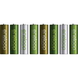 Mignon (AA)-Akumulator NiMH Panasonic eneloop Botanic Limited-Edition, HR06 1900 mAh 1.2 V 8 KOS