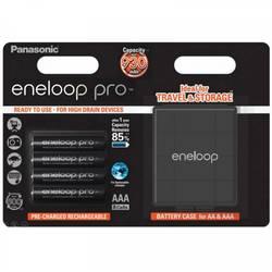 Micro (AAA)-Akumulator NiMH Panasonic eneloop Pro HR03 Box 900 mAh 1.2 V 4 KOS
