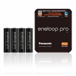 Mignon (AA)-Akumulator NiMH Panasonic eneloop Pro HR06 Storage 2450 mAh 1.2 V 4 KOS