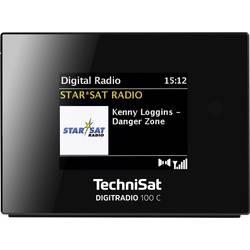 TechniSat DIGITRADIO 100 C DAB+ Radijski adapter Bluetooth, UKW Črna