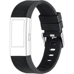 Rezervna zapestnica Topp für Fitbit Charge 2 Črna
