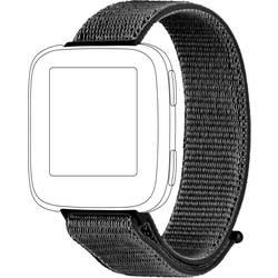 Rezervna zapestnica Topp für Fitbit Versa Temno siva