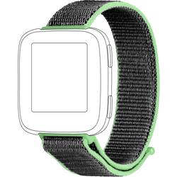 Rezervna zapestnica Topp für Fitbit Versa Limetno zelena, Siva