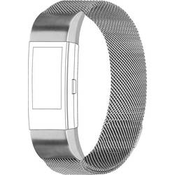 zamjenska traka Topp für Fitbit Charge 2 srebrna