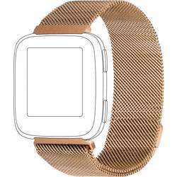 zamjenska traka Topp für Fitbit Versa ružičasto-zlatna (roségold)