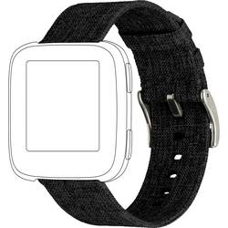 zamjenska traka Topp für Fitbit Versa crna