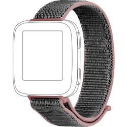 zamjenska traka Topp für Fitbit Versa ružičasta, siva