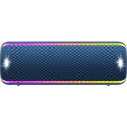 Bluetooth zvučnik Sony SRS-XB32 aux, vanjski, otporan na prašinu, otporan na udarce, USB, vodootporan plava boja