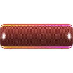 Bluetooth zvučnik Sony SRS-XB32 aux, vanjski, otporan na prašinu, otporan na udarce, USB, vodootporan crvena