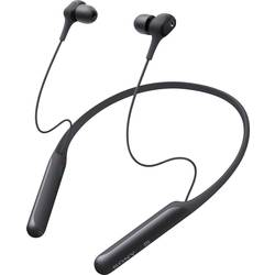 Bluetooth® in ear slušalice Sony WI-C600N u ušima slušalice s mikrofonom, poništavanje buke, NFC crna