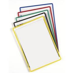 Tarifold za predstavitev rdeča, modra, rumena, zelena, črna