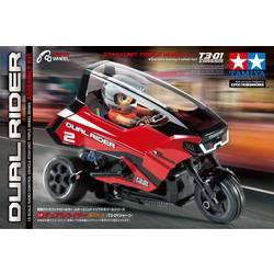 Tamiya Dual Trike T3-01 s ščetkami 1:8 rc motorno kolo elektro tricikel zadnji pogon (2wd) komplet za sestavljanje