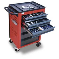 21002 Kolica za alate dimenzije:(D x Š x V) 610 x 450 x 950 mm 68 kg