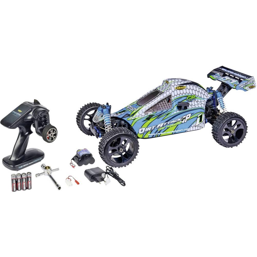 Carson Modellsport Dirt Attack GP 3.0 1:5 RC Modeli avtomobilov Bencinski Buggy Pogon na vsa kolesa (4WD) RtR 2,4 GHz