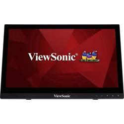 Viewsonic TD1630-3 monitor z zaslonom na dotik 40.6 cm(16 palec)EEK A++ (A+++ - D) 1366 x 768 piksel WXGA 12 ms HDMI, USB, VGA,