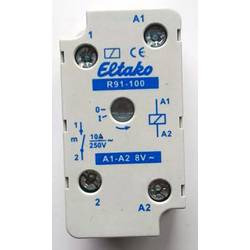 sklopni relej 1 St. Eltako R91-100-8VAC Nazivni napon: 8 V Prebacivanje struje (maks.): 8 A 1 zatvarač