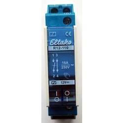 sklopni relej 1 St. Eltako R12-110-12V DC Nazivni napon: 12 V Prebacivanje struje (maks.): 8 A 1 zatvarač, 1 otvarač