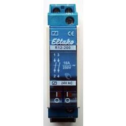sklopni relej 1 St. Eltako R12-200-24V Nazivni napon: 24 V Prebacivanje struje (maks.): 8 A 2 zatvarač