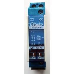 sklopni relej 1 St. Eltako R12-200-12V Nazivni napon: 12 V Prebacivanje struje (maks.): 8 A 2 zatvarač