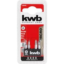 kwb MIKRO BITS, 28 mm, 4 kom. 128040