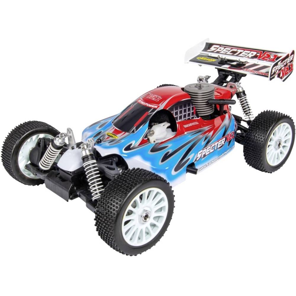 Carson Modellsport Specter 3.0 V21 1:8 RC Modeli avtomobilov Nitro Buggy Pogon na vsa kolesa (4WD) ARR