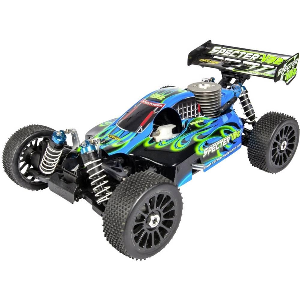 Carson Modellsport Specter 3.0 V32 1:8 RC Modeli avtomobilov Nitro Buggy Pogon na vsa kolesa (4WD) RtR 2,4 GHz