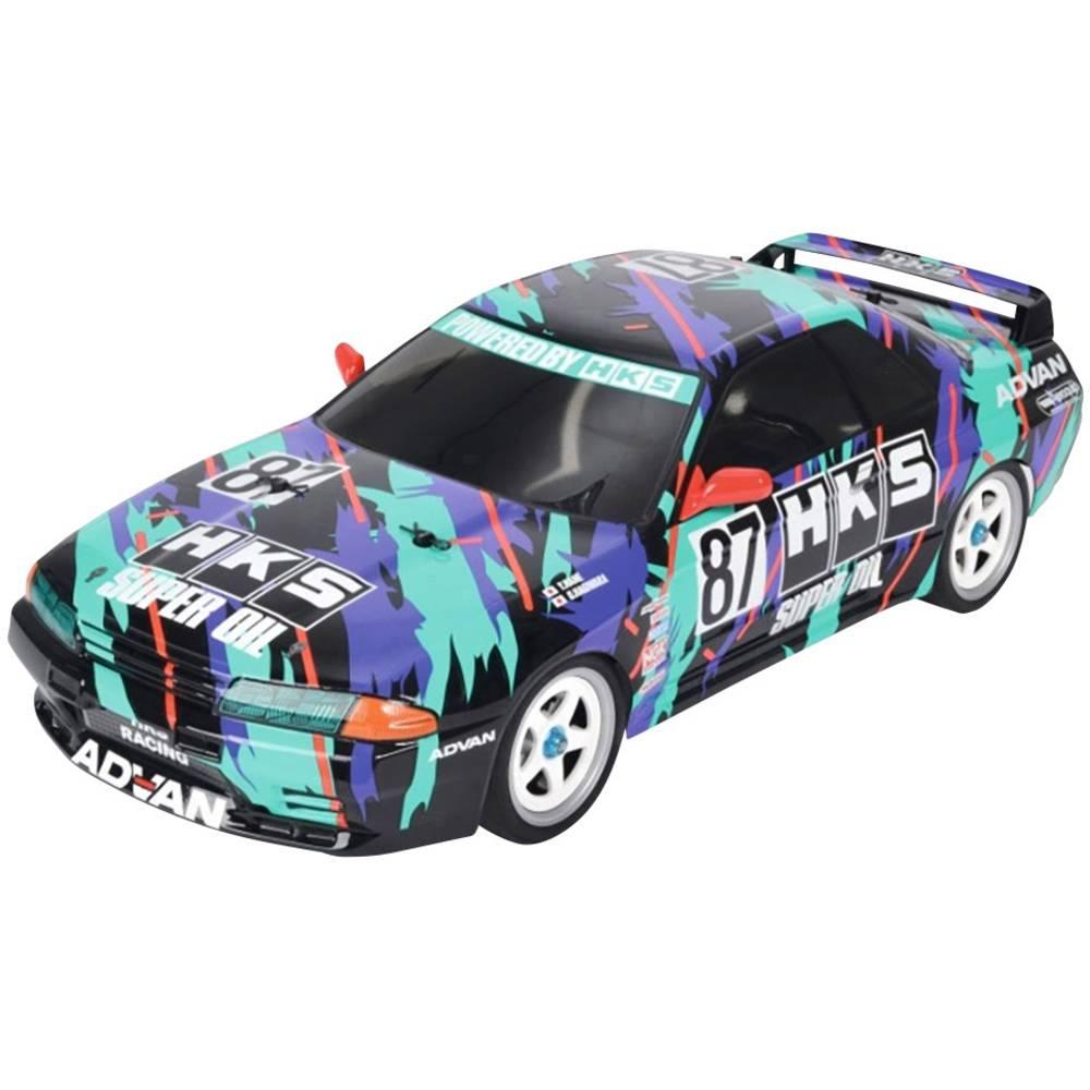 Tamiya HKS Nissan Skyline GT-R s ščetkami 1:10 RC Modeli avtomobilov Elektro Cestni model Pogon na vsa kolesa (4WD) Komplet za s