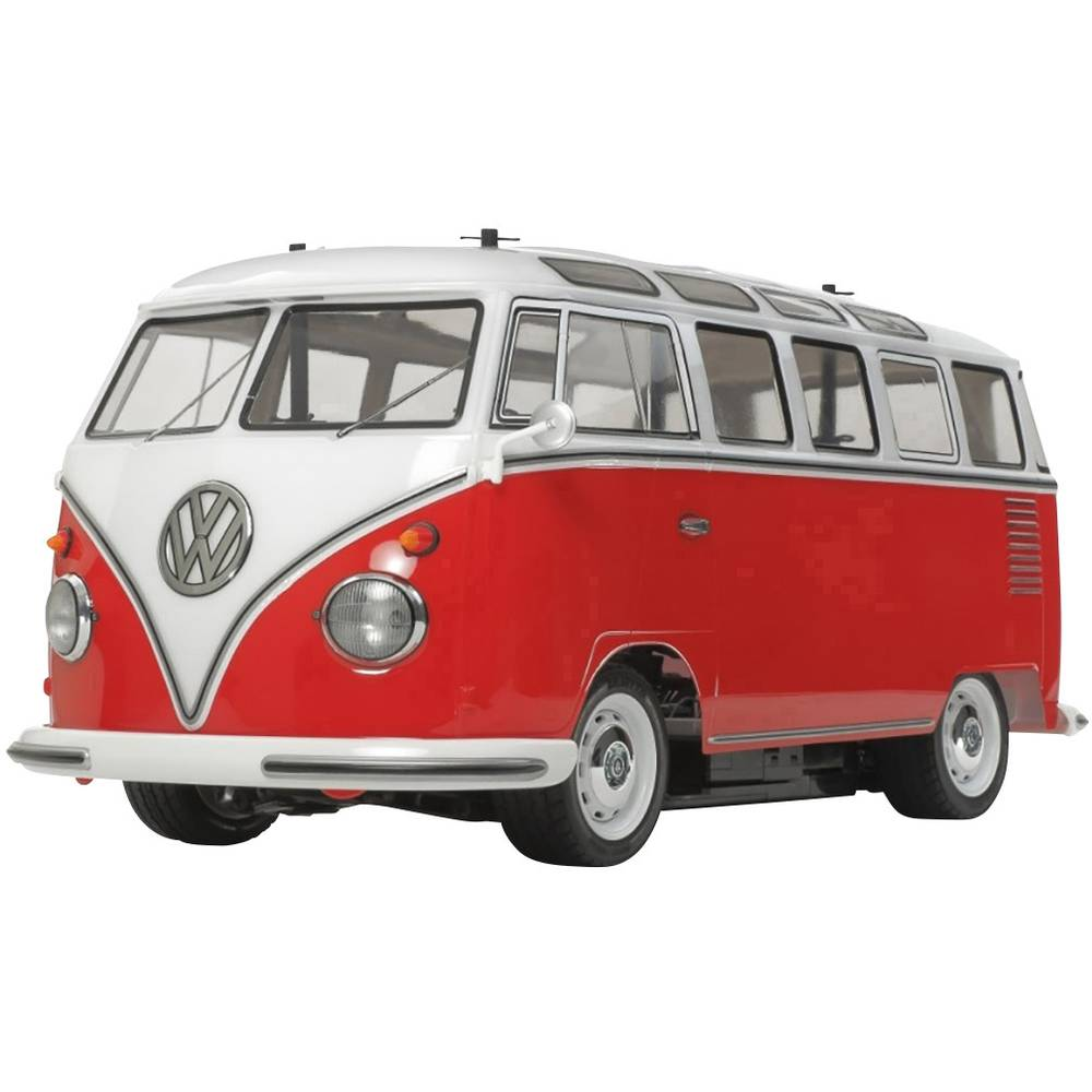 Tamiya VW Bus Type 2 (T1) s ščetkami 1:10 RC Modeli avtomobilov Elektro Cestni model Zadnji pogon (2WD) Komplet za sestavljanje