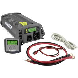 Razsmernik ProUser Sinus PSI1000 1000 W 10.5 do15.3 V - 230 V/AC, 5 V/DC Vključuje daljinski upravljalnik