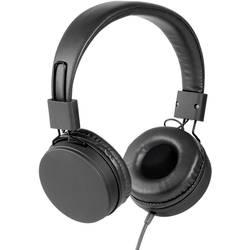Vivanco NEOS hifi on ear slušalke on ear ušesno držalo črna