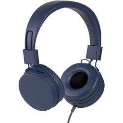 Vivanco NEOS hifi on ear slušalke on ear ušesno držalo modra