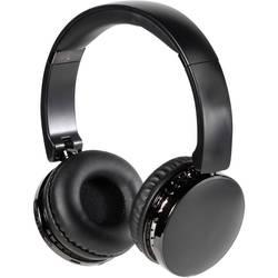 Vivanco NEOS AIR bluetooth® hifi on ear slušalke on ear zložljive, naglavni komplet, ušesno držalo črna
