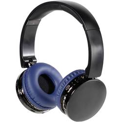 Vivanco NEOS AIR bluetooth® hifi on ear slušalke on ear zložljive, naglavni komplet, ušesno držalo modra