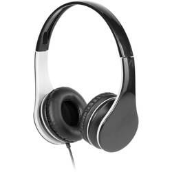 Vivanco MOOOVE hifi on ear slušalke on ear ušesno držalo črna/siva