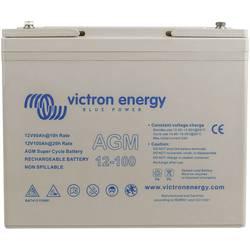 olovni akumulator 12 V 100 Ah Victron Energy Super Cycle BAT412110081 olovno-koprenasti m6 vijčani priključak