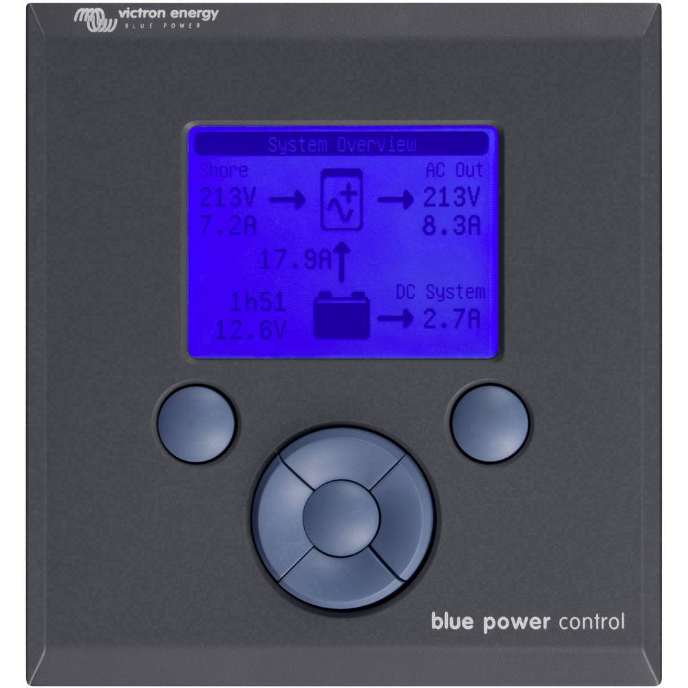 Victron Energy Daljinski upravljalnik BPP000200110R 100 mm x 110 mm Primerno za model (inverter):Victron GX Paneels
