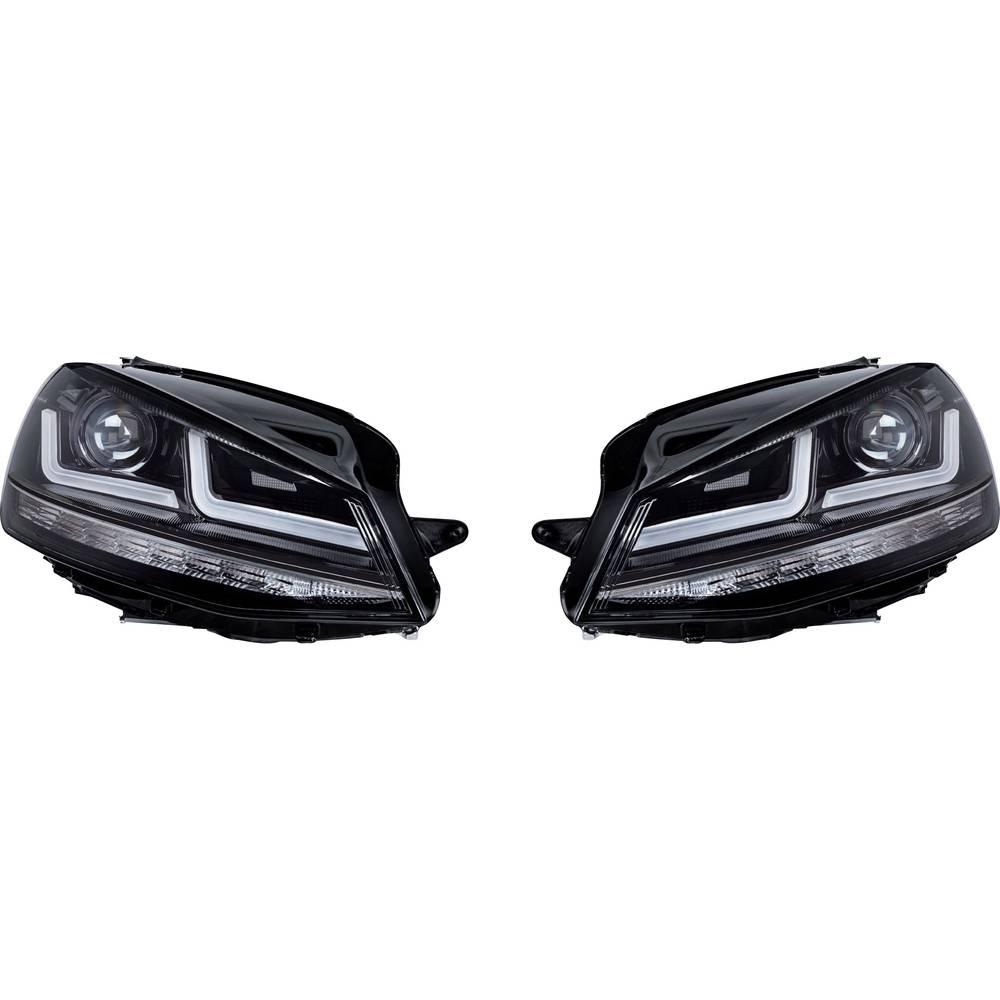 Celoten reflektor Black Edition Halogenersatz LED žarnice OSRAM (D x Š x V) 63 x 40 x 24 cm Črna