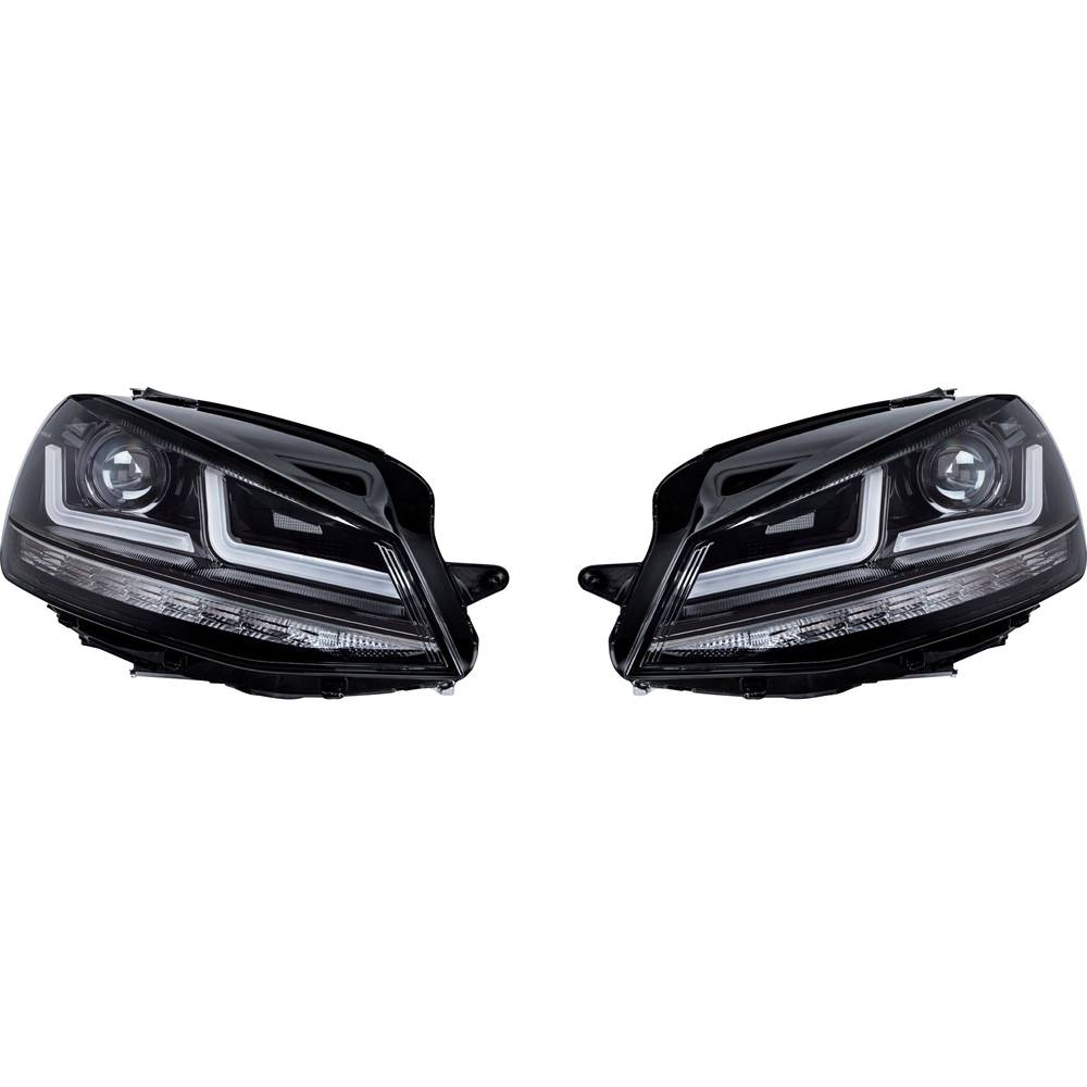Celoten reflektor Black Edition Xenonersatz LED žarnice OSRAM (D x Š x V) 63 x 40 x 24 cm Črna