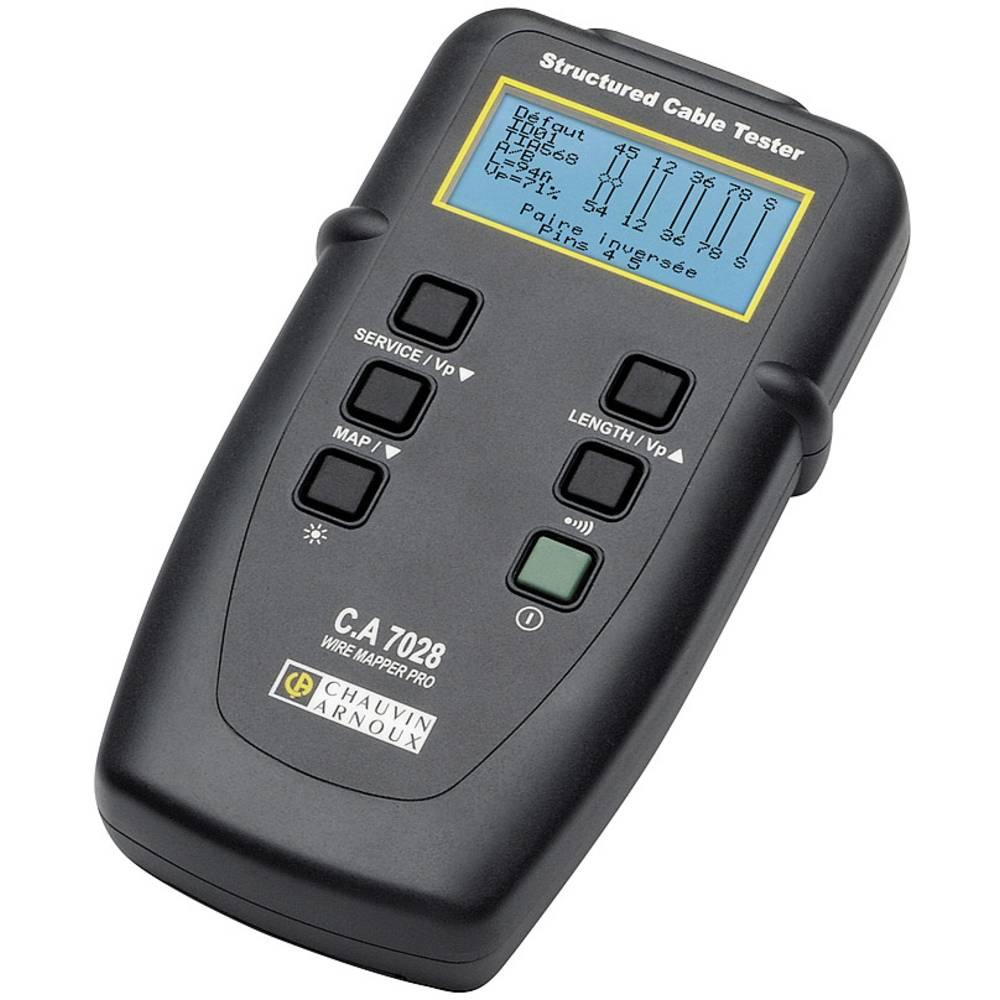 tester kablov Chauvin Arnoux C.A 7028 omrežje, telekomunikacije