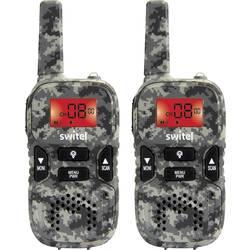 Switel WTE2350 Camouflage pmr ročna radijska postaja 2-delni komplet