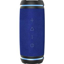 Bluetooth zvučnik swisstone BX 520 TWS AUX, Funkcija govora slobodnih ruku, Zaštićen protiv prskajuće vode Plava boja