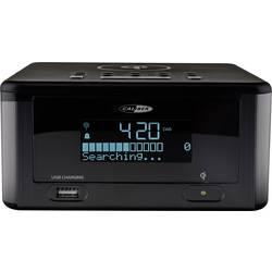 DAB+ Radijska budilka Caliber Audio Technology HCG 0100iDAB-BT Bluetooth, UKW, USB Funkcija polnjenja baterije Črna