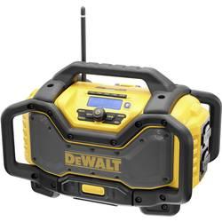 Dewalt DCR027 radio za gradbišča črna, rumena