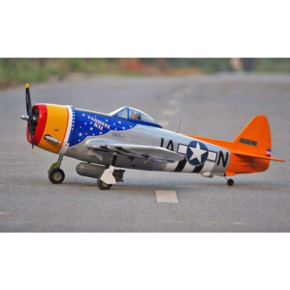 VQ P-47D Thunderbolt (Tarheel Hal) RC Model motornega letala ARF 1500 mm