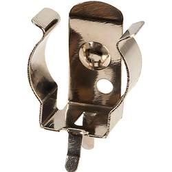 Enojni kontakt 1x Micro (AAA) Vtična montaža THT (D x Š x V) 6.5 x 11 x 12.2 mm TRU COMPONENTS 18-3704