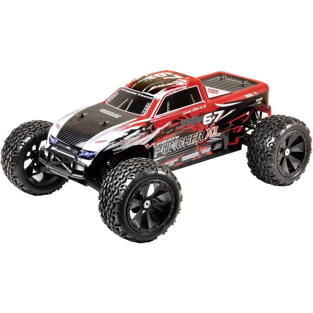 T2M Pirate Puncher XL brez ščetk 1:6 RC modeli avtomobilov elektro monster truck pogon na vsa kolesa (4wd) RtR 2,4 GHz